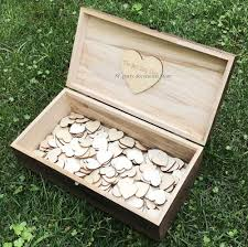 engravable wedding guest book aliexpress buy personalized engraved rustic wedding