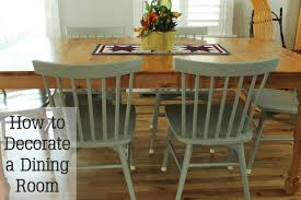 How To Home Decorate How To Decorate A Dining Room To Be Better Than Comfort Food