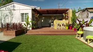 backyard ideas for dogs dog friendly backyard makeover video hgtv