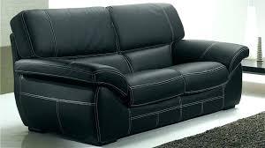 canape simili cuir 2 places ensemble de canapac 32 pvc noir et blanc canape noir 2 places ensemble canape 3 et 2 places canape 2 places