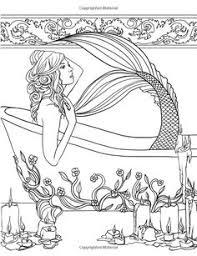 beautiful mermaid coloring pages code qr 17 bästa bilder om målarbok på pinterest målarböcker