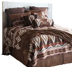 Bedroom Furniture Sets Twin by Pecos Trail Bedding Set Southwestern Bedroom Furniture Sets