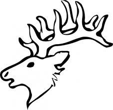 donkey outline black white clip art vector free vector