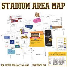 Arrowhead Stadium Map University Of Wyoming Athletics