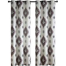 modern damask curtains allmodern