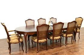 baker petra dining table 6 oscar silver dining chairs 127 baker