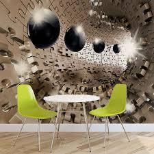 pattern balls puzzle abstract modern 3d photo wallpaper mural