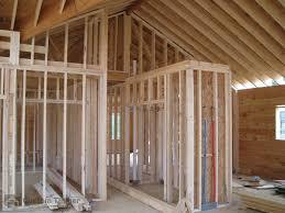 dillon interior custom timber log homes 2x4 stud walls