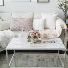 best ikea vittsjo coffee table hack minimalist white living room