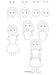simple step by step drawing for kids how to draw hawaiian flowers