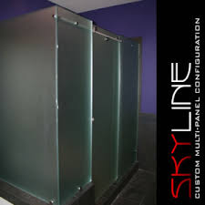 Frosted Glass Shower Door Frameless The Many Options Of Frameless Frosted Glass Shower Doors