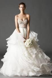 watters bridal watters ivory washed silk organza skirt wedding dress size