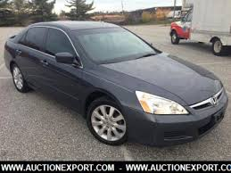 honda accord used cars for sale used 2007 honda accord ex sedan 4 doors car for sale at auctionexport