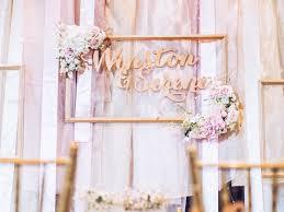 wedding backdrop rental singapore wedding signage singapore of roses