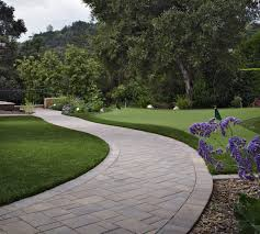 Patio Edging Options by 7 Landscape Edging Ideas For Artificial Grass Lawns Install It