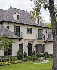 french country style home exterior of homes designs house window design and future