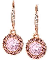 pink drop earrings pink drop earrings shop drop earrings macy s