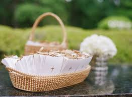 Basket For Wedding Programs 34 Best Wedding Ceremony Programs Images On Pinterest Wedding