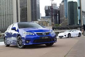 lexus hatchback sedan new 2012 lexus ct 200h hybrid hatchback gets optional f sport package