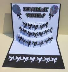 birthday cake pop up insert cup691889 596 craftsuprint