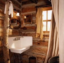 Log Cabin Bathroom Ideas Rustic Cabin Bathrooms Bathroom Rustic With Rustic Cabin Bathroom