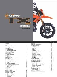 keeway tx200g user manual english version