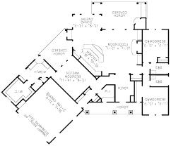 100 e house plans the horizon split level floor plan by