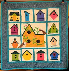 birdhouse quilt pattern applique birdhouse quilt enchanted forests more pinterest