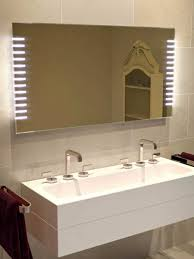 bathroom cabinets large led mirror modern bathroom mirrors bath