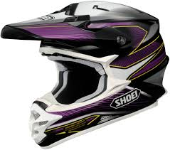 full face motocross helmet shoei vfx w sear full face off road motocross helmet purple multi