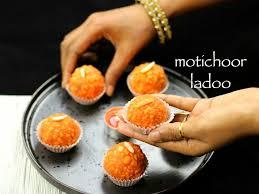 motichoor ladoo recipe motichur laddu recipe motichoor laddu