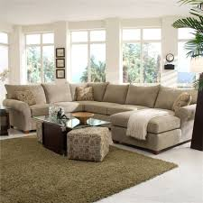 Chaise Lounge Sectional Klaussner Fletcher Spacious Sectional With Chaise Lounge Wayside