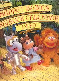 muppet babies storybook calendar 1990 muppet wiki fandom