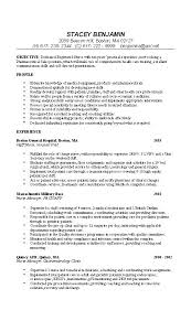 Example Of Objective For Resume by Sample Resume For Rn Position Experience Resumes