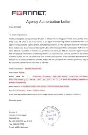Legal Representative Authorization Letter by 24100012 Wireless Access Point Cover Letter 2 Declaration Of