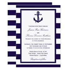 nautical wedding invitations announcements zazzle co uk