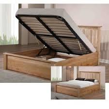 emporia beds monaco 6ft super kingsize wooden ottoman bed amazon