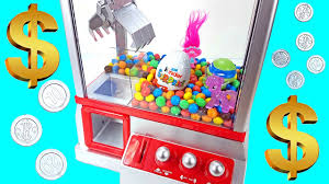 candy kinder egg claw machine for kids candy grabber filled with m ms