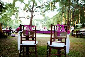 decorating ideas for outdoor wedding reception decorating of party