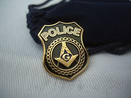 Masonic Home Decor Masonic Lodge Freemason Freemasonry Police Shield Lapel Pin
