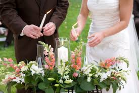 Sand Vases For Wedding Ceremony Use A Hurricane Glass Enclosure For The Unity Candle During An