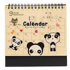 bureau d o ì king do way 2017 calendrier de table bureau maison desk calendar