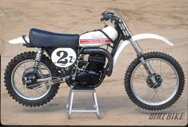 restored vintage motocross bikes for sale dirt bike magazine mx history the yz400 two stroke