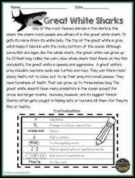 Editing And Proofreading Worksheets Correct The Paragraph Paragraph Worksheets And Students