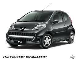 peugeot 4x4 cars peugeot 107 also receives the u0027millesim 200 u0027 treatment