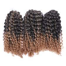 ombre marley hair 8 ombre afro kinky curly crochet braids marlybob braid hair