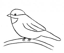drawing of birds for kids bird drawing clipart best drawing art