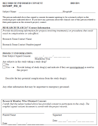 irb informed consent template 28 images cover letter irb