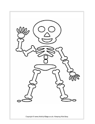 Halloween Drawing Activities Kids Skeleton Drawing Free Download Clip Art Free Clip Art