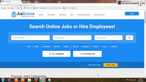 Job Resume Upload by Job Station Portal Par Resume Upload Kaise Kare Youtube